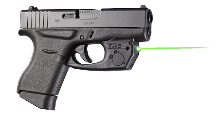 TR5G GREEN Laser for Glock 42 & 43