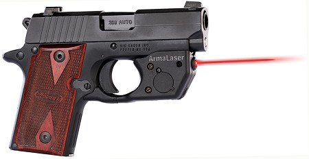 TR8 RED for SIG P238/P938