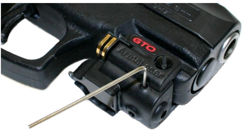 Simple laser adjustment