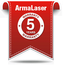 ArmaLaser 5-Year Warranty