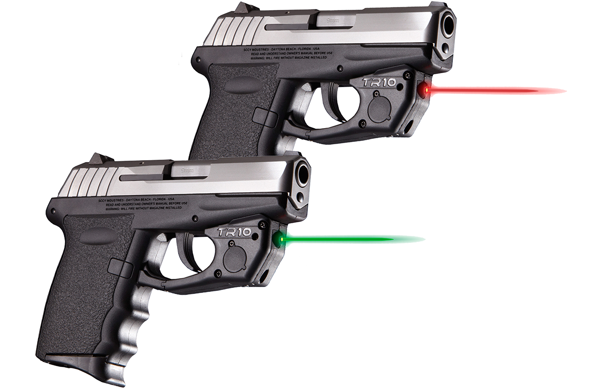 TR Series Lasers are available in both Green and Red
