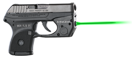 TR2 GREEN Laser for Ruger LCP